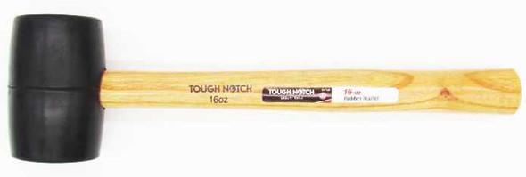 Tough Notch Rubber Mallet 16oz