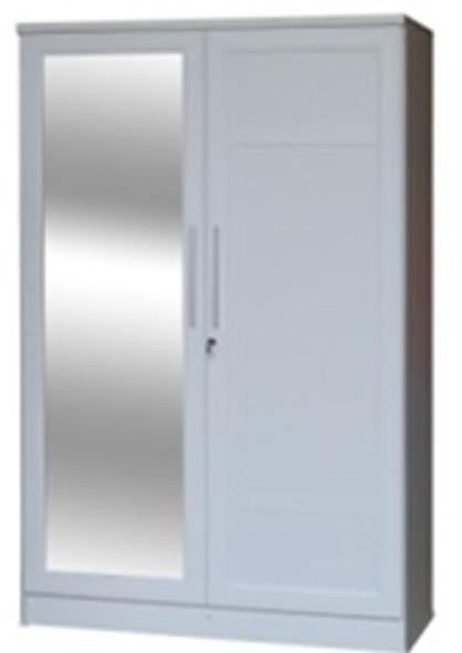 Milano II 2 doors Wardrobe Cabinet