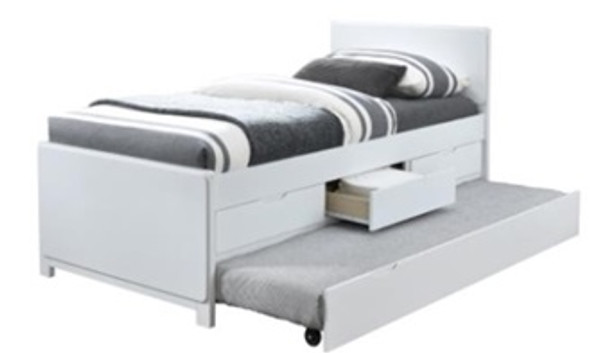 Myson Single Bed with Pull-out and Drawers