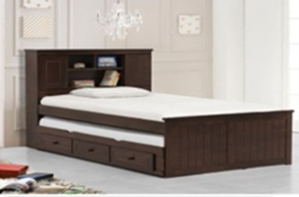 Ohayo Yassi Trundle Single Bed