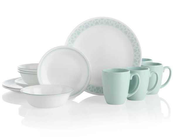 [EXCLUSIVE] Corelle 1135286 16pc Delano Dinnerware Set