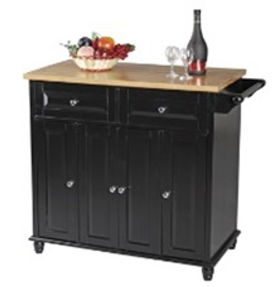 K Horta Kitchen Trolley with 2drawer