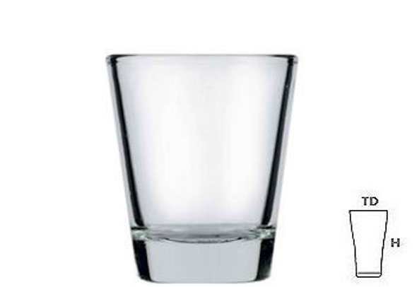 LG-43/404302 60ML Rush Shot Glass