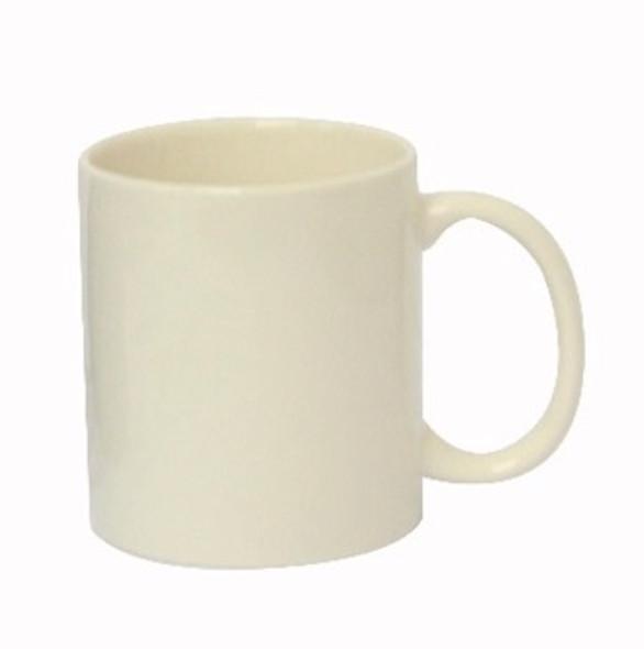 CM-White 12oz Ceramic Mug