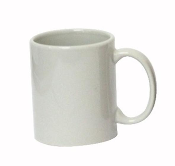 CM-Gray 12oz Ceramic Mug