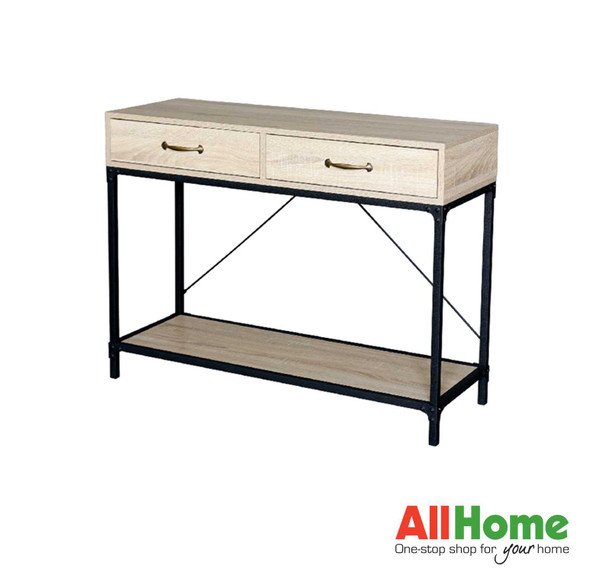 K Haiti II Console Table with 2 Drawers