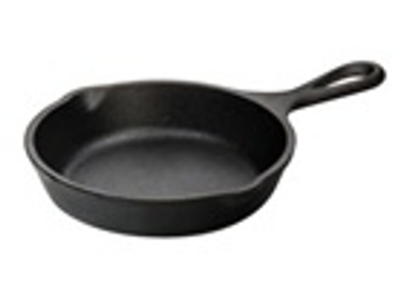 5 Inch Cast Iron Skillet, Heat Treated & Seasoned