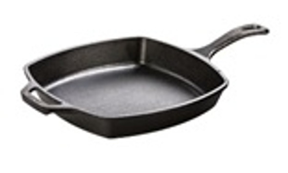 10.5 Inch Square Cast Iron Skillet