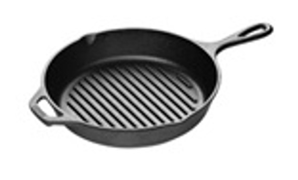 10.25 Inch Cast Iron Grill Pan,