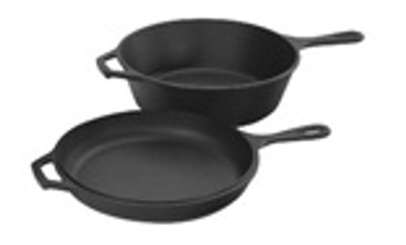 3.2 Quart Cast Iron Combo Cooker