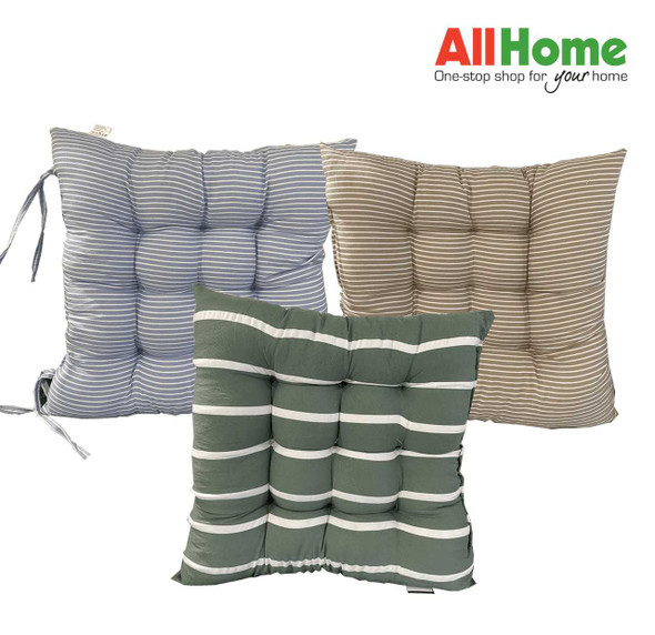 Green Big Stripes Chairpad