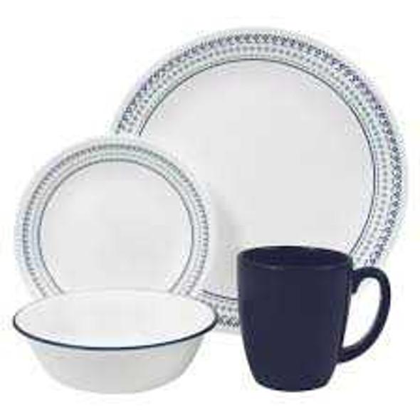 Corelle 1109599 16pc. Dinnerware set - Folk Stitch