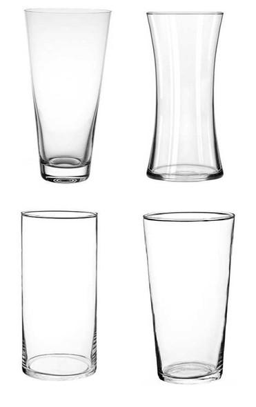 Miranda.L Clear Vase Big