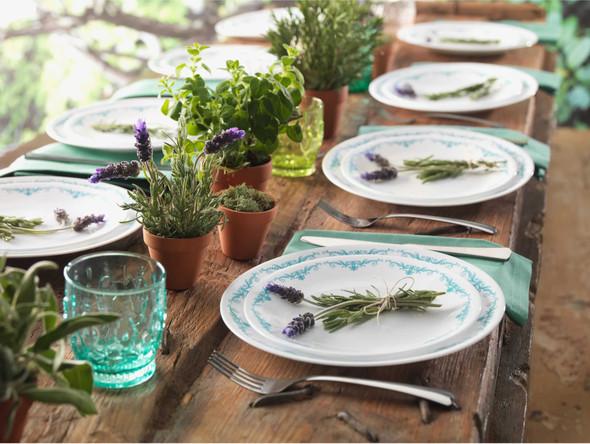 Corelle 1123670 16pc. Dinnerware set - Garden Lace