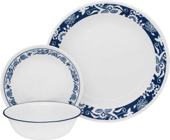 Corelle 1114045 16pc. Dinnerware set -True Blue