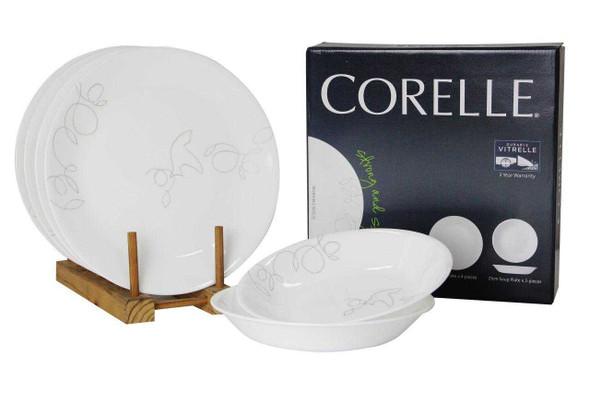 Corelle 6DS-MBZ-PH 6pc. Dinnerware set -Morning Breeze
