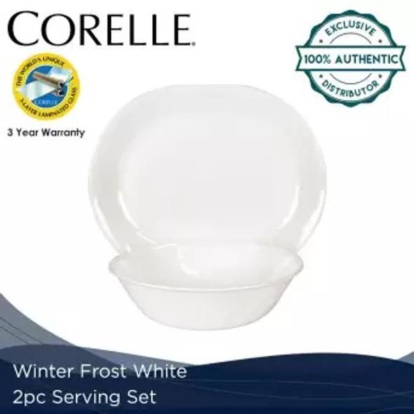 Corelle 2SS-N-PH 2pc. Serving set -Winter frost white