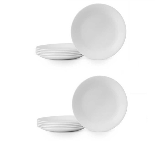 Corelle CT12-110N/PH 12pc Catering Dinner Plate set