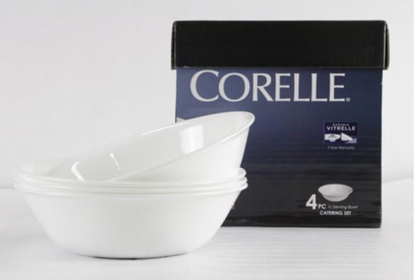 Corelle CT4-432/PH 4pc Catering 1L Serving Bowl Set