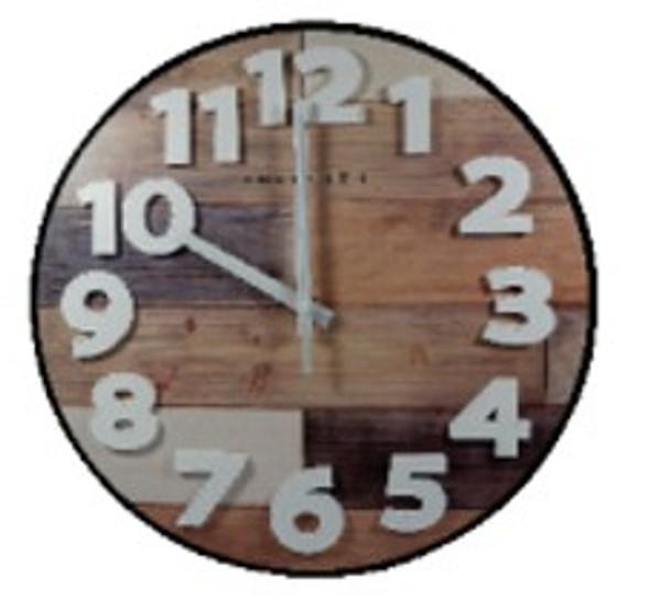Z18W-177-P 31cm Wall Clock