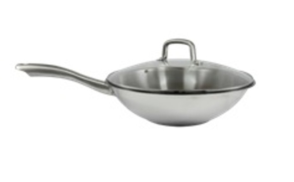 MPCW1718 32X9CM CHINESE WOK WITH LID