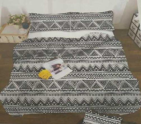 MODERN LINENS Bedsheet Microfiber 4 Piece Set Full Anna