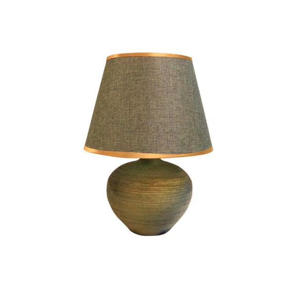 Leuchte Table Lamp Cera Weave Blugrn
