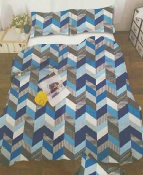 MODERN LINENS Bedsheet Microfiber 4 Piece Set Full Harlow
