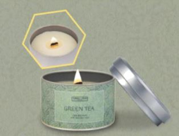 Carroll and Chan Tin Candle Green Tea