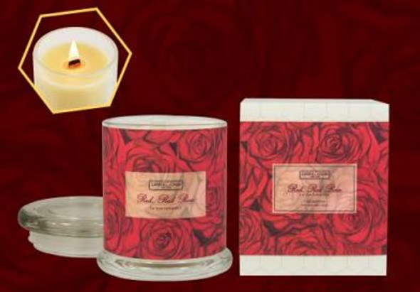 Carroll and Chan Jar Candle Red Red Rose