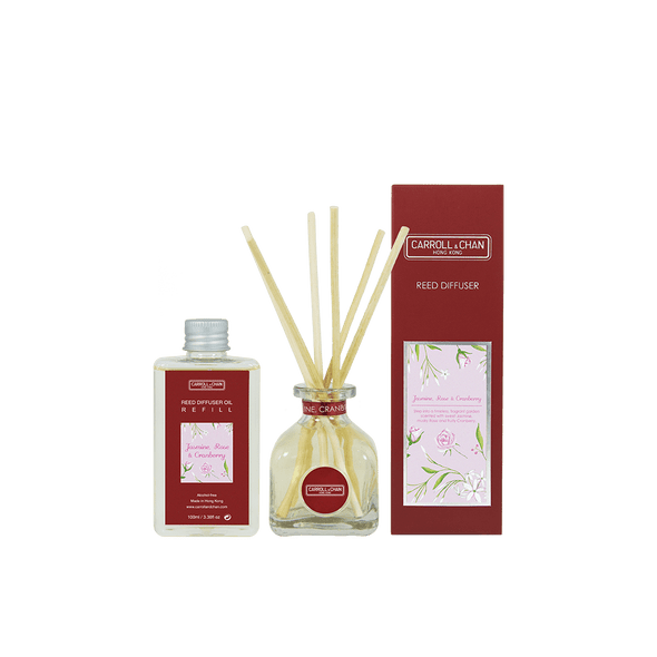Carroll and Chan Reed Diffuser Jasmine Rose 100ml