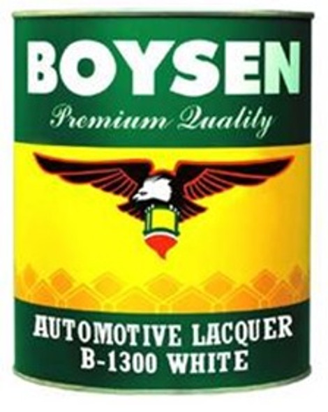 BOYSEN BS 1300 AUTOMOTIVE LACQUER WHITE 4L