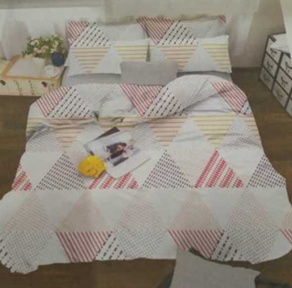 Exclusively in All Home  Full Barbara 4-Piece Bedsheet Set