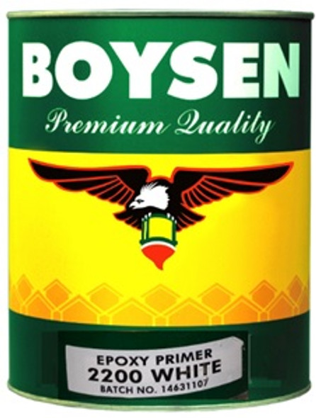 BOYSEN BS 2200 EPOXY PRIMER WHITE 4L