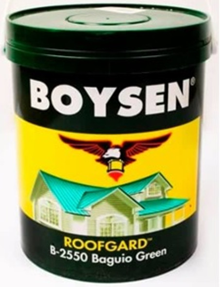 BOYSEN BS 2550 ROOF PAINT BAGUIO GREEN 4L