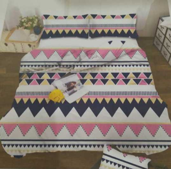 MODERN LINENS Bedsheet Microfiber 4 Piece Set Twin Michelle