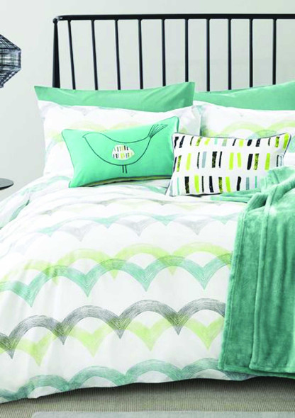 LIFESTYLE PICK N GO Bedsheet 4 Piece Set Cotton-Blend Full Chantilly