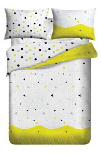 LIFESTYLE PICK N GO Bedsheet 4 Piece Set Cotton-Blend Queen Poly