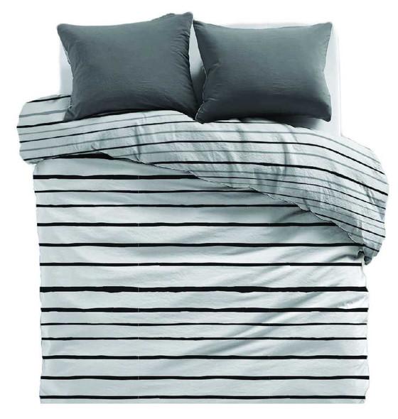 LIFESTYLE PICK N GO Bedsheet 3 Piece Set Cotton-Blend Full Brittany