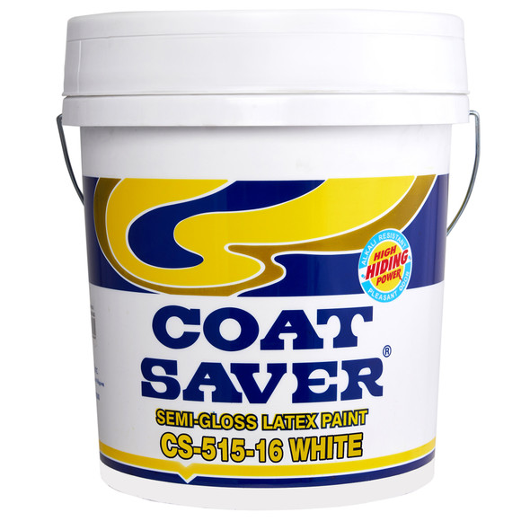 COATSAVER CS-515-16 COAT SAVER LATEX SEMI GLOSS WHITE 16L