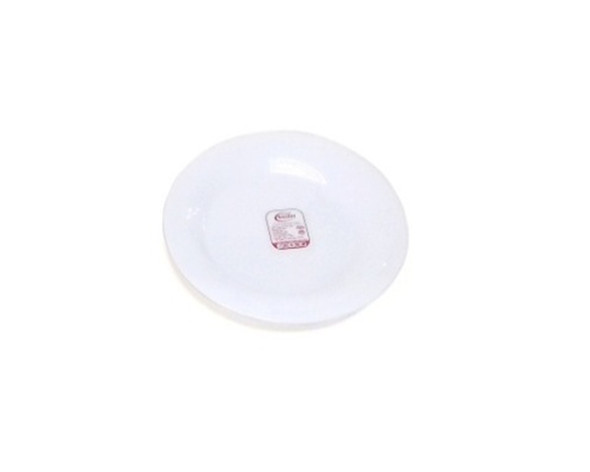 HG-RPL90/P 9in Opal Glass Round Dinner Plate