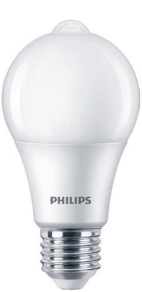 PHILIPS LED SENSOR 8-60W A60 E27 CDL