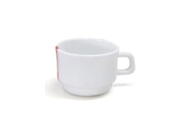 HG-CC190/P 190cc Opal Glass Coffee Cup