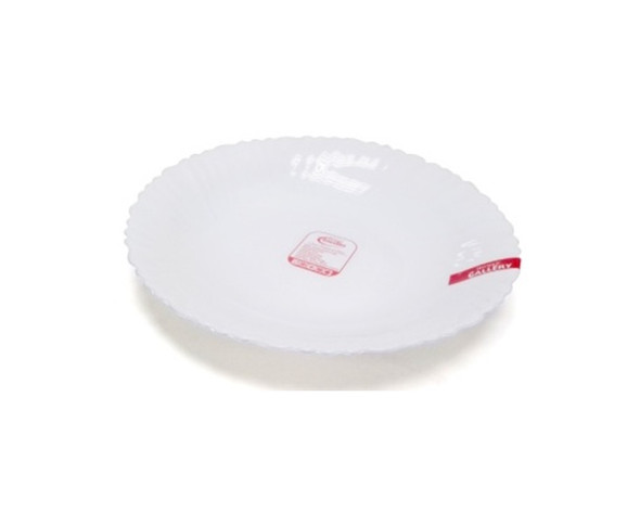 HG-SSPL95/P 9.5inch Opal Glass Soup plate