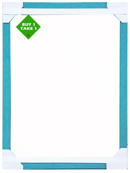 Buy 1 Take 1 Mirror 12X16 Blue