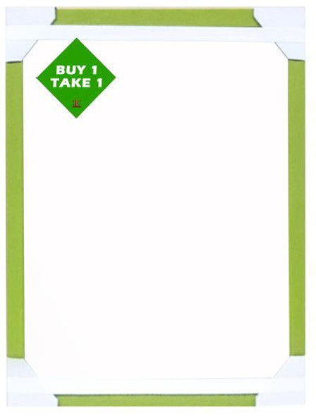 Buy 1 Take 1 Mirror 12x 16 Lt. Green