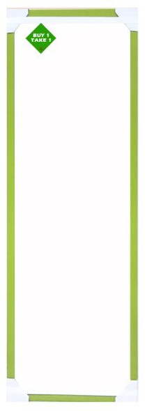 Buy 1 Take 1 Mirror 12x36 Lt Green