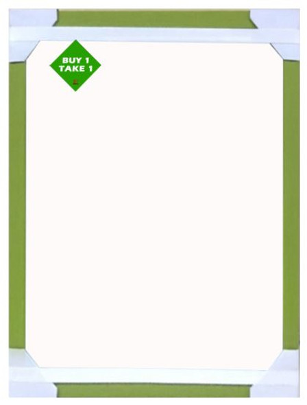 Buy 1 Take 1 Mirror 24x18 Lt Green