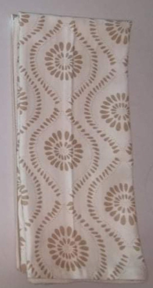 Wavy Brown  Kitchen Towel Set of 3