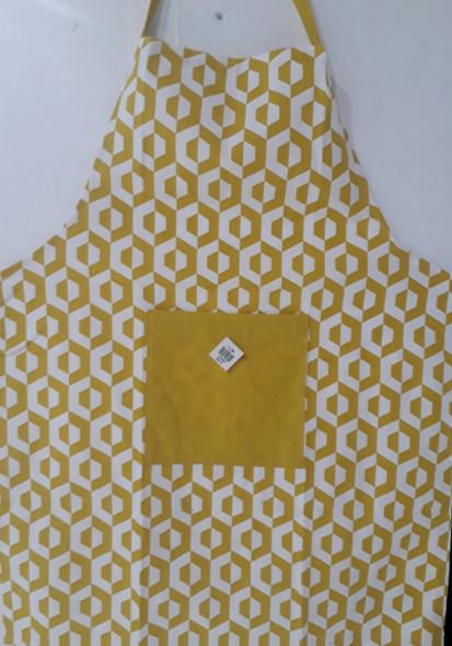Yellow Hexa Apron